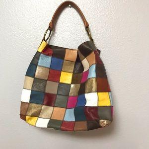 Stella&Max genuine leather hobo bag